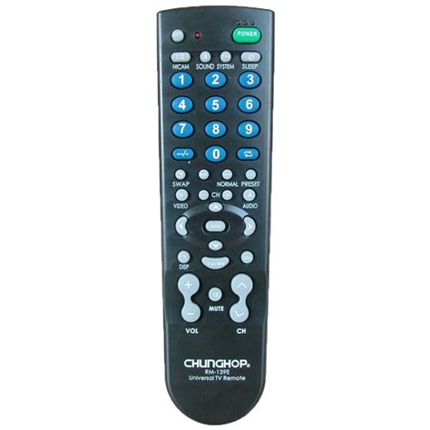 Chunghop Universal Tv Remote chunghop universal tv remote rm 139ex black jakartanotebook