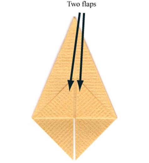 how to make a simple origami pyramid page 2