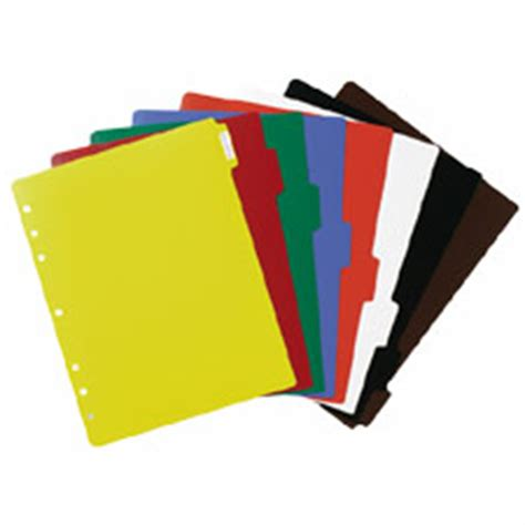 Decorative Tab Dividers by Tab Dividers
