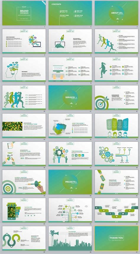 blue wave business powerpoint ppt template