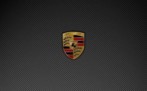 porsche logo black background porsche logo wallpaper wallpapersafari