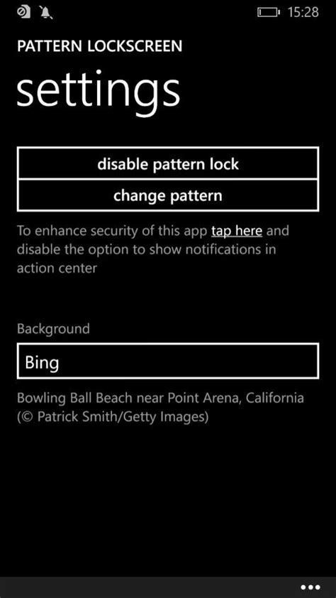 pattern lock screen for windows phone 8 1 anteprima pattern lockscreen per windows phone 8 1