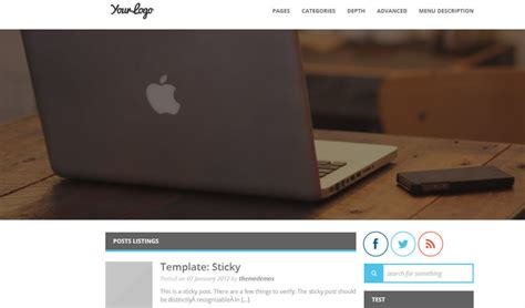 wordpress themes free download professional 2014 with slider the 15 new free and useful wordpress themes from february 2014
