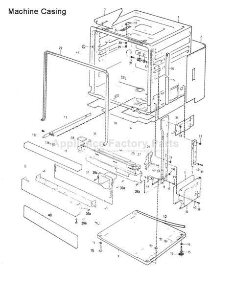 asko dishwasher parts diagram asko parts manual pictures to pin on pinsdaddy