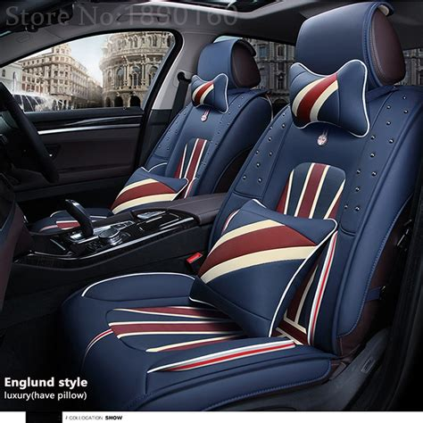 front rear special leather car seat covers