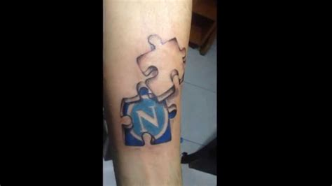 3d puzzle tattoo 3d puzzle napoli s c n