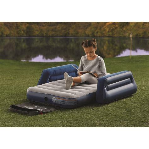 ozark trail cing airbed w travel bag 821808149643 ebay