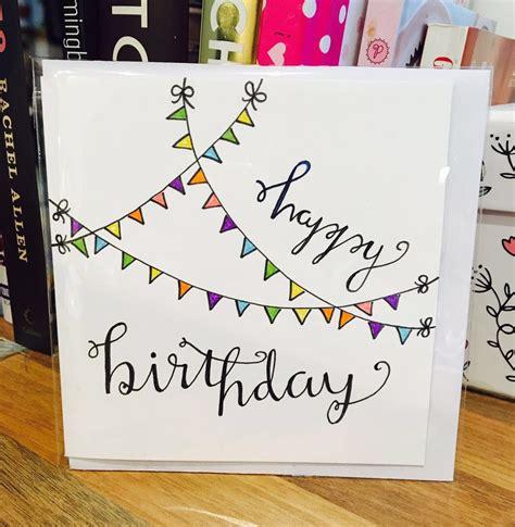 happy birthday cards to make happy birthday card flag white design handmade