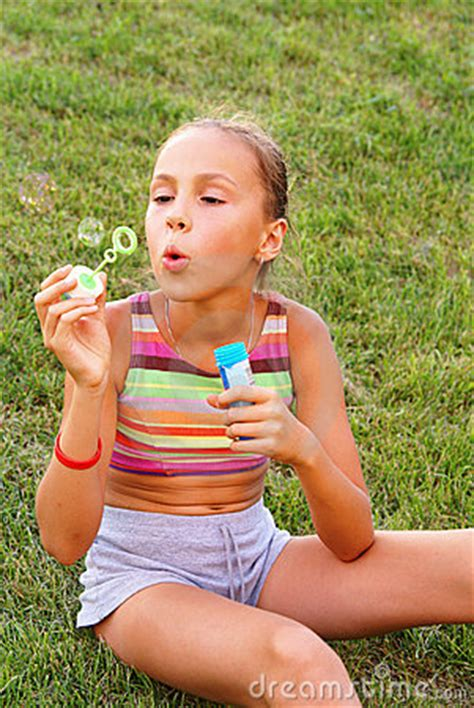 preteen x img thumbs dreamstime x preteen girl grass background