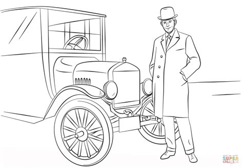 old ford coloring pages printable coloring pages