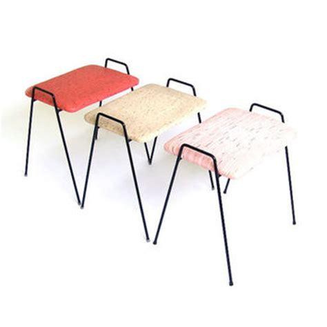mid century modern stacking stools vintage stool seat low chair bench from stonesoupology on etsy