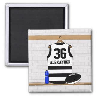 Binder Striped Square aussie football gifts t shirts posters other gift ideas zazzle
