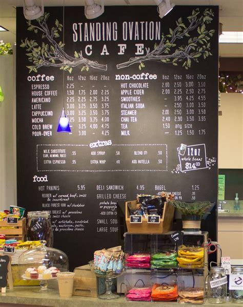 cafe wall menu design 25 best ideas about chalk pens on pinterest