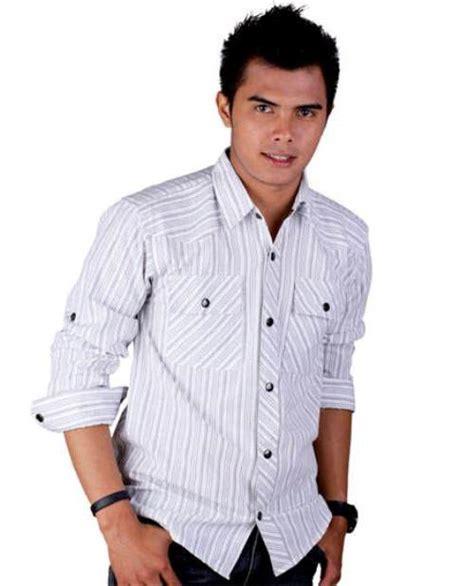 Baju Pria Kemeja Gentleman Black Style baju kemeja lelaki baju kemeja lelaki