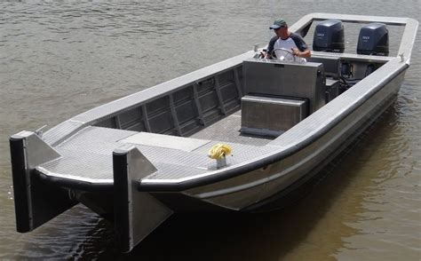 heavy duty aluminum jon boats 24 work boats scully s aluminum boats inc