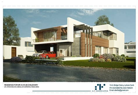 afa modern residence home designs home elevations home 3d