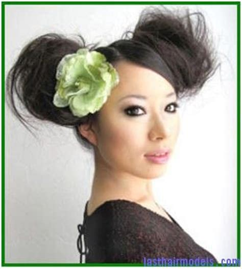 chinese bun hairstyles chinese double sided high bun hairstyles nice do pinterest