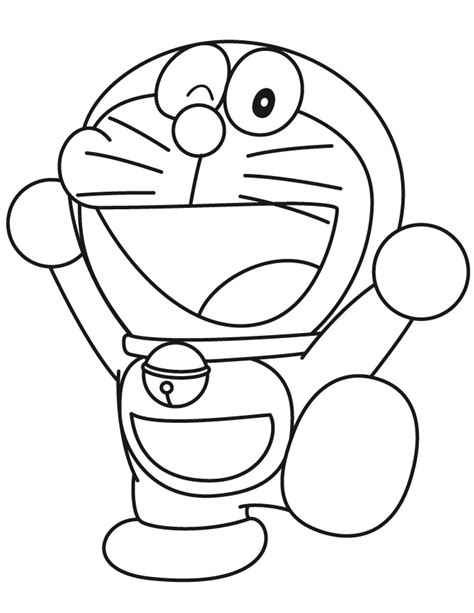 pages of doraemon colouring pages of doraemon coloring page gallery