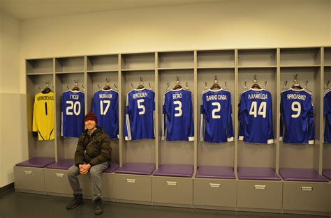 in the changing room stadium two months in ukraine