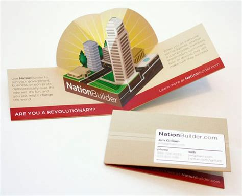 pop up business cards templates 15 cool pop up business cards 13 business cards
