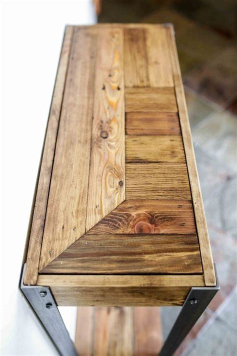pallet wood entry hall table   entry hall table