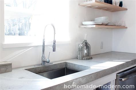 Modern Kitchen Concrete Countertops by Modern Ep87 Concrete Kitchen Countertops
