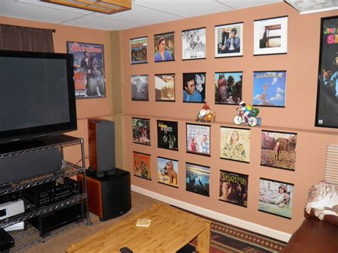 How To View Records Record Album Frames For The Home Theatre Records On Walls