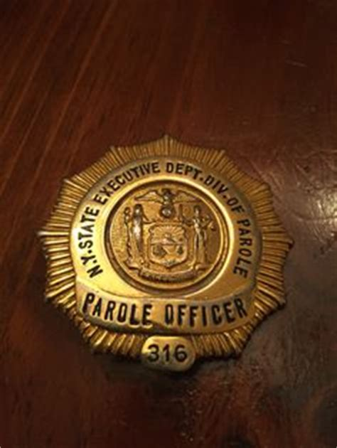 Nys Parole Officer by New York State Courts Court Officer Badge Has Lug