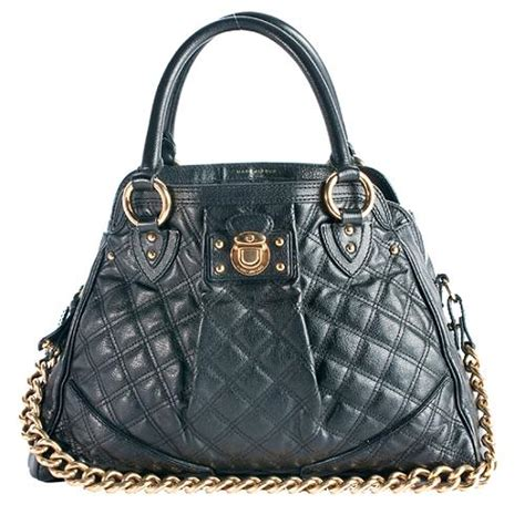 Marc Quilted Alyona Handbag marc quilted leather alyona satchel handbag
