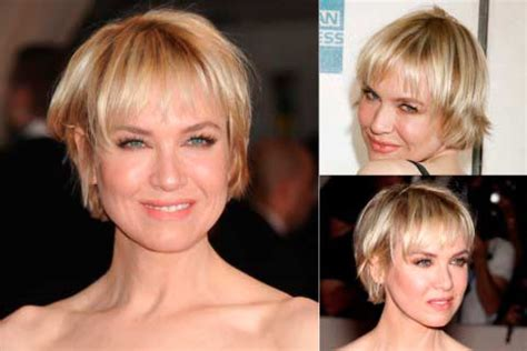 renee zellweger best beauty short and slightly disheveled top 100 short hairstyles for women beauty tips hair care
