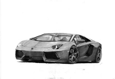 lamborghini drawing lamborghini aventador drawings in pencil