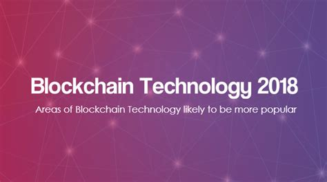 blockchain technology explained 2018 books areas of blockchain technology likely to be more popular