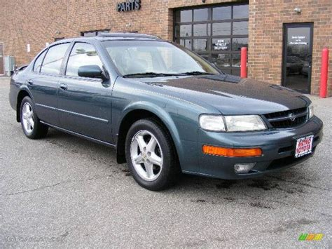 nissan green 1998 blue green pearl nissan maxima 4683099 photo 14