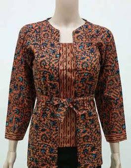Baju Atasan Dress Batik Pakaian Wanita Baru Syara Top atasan batik wanita batik kerja wanita blazer batik wanita