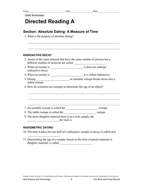 directed reading themes of biology skills worksheet directed reading answers switchconf