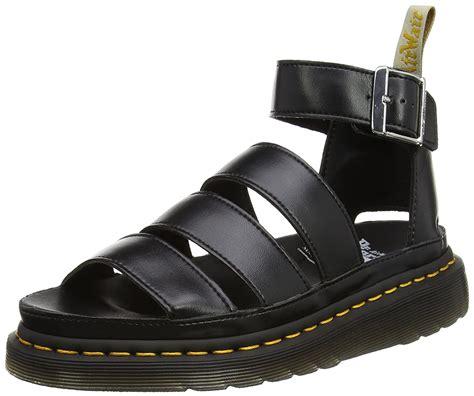 dr martens smooth dr martens dr martens s v clarissa ii ankle sandals black felix
