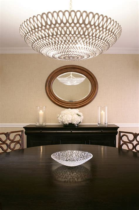 Oly Studio Pipa Bowl Chandelier Contemporary Dining Oly Pipa Bowl Chandelier