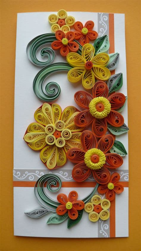 quilling art greeting card birthday wedding mother s 17 best ideas about greeting card sentiments on pinterest
