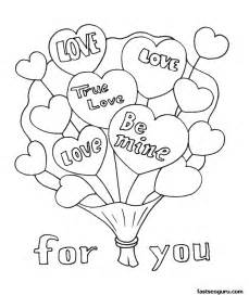 printable valentines day coloring pages printable bouquet coloring page printable