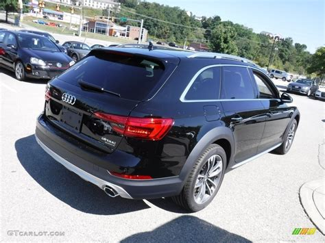 audi a4 2017 black 2017 brilliant black audi a4 allroad 2 0t premium plus