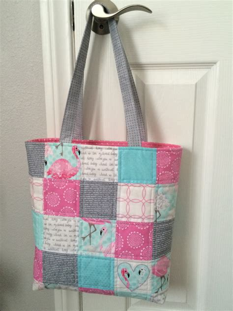 Free Patchwork Patterns For Bags - patchwork tote bag tutorial