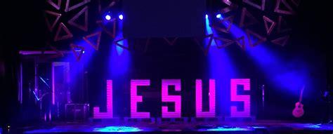 jesus angles church stage design ideas