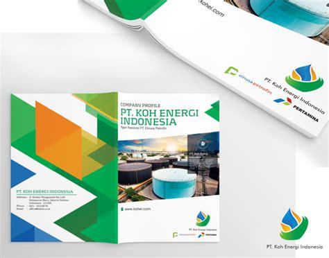 desain layout perusahaan sribu company profile design desain profil perusahaan unt