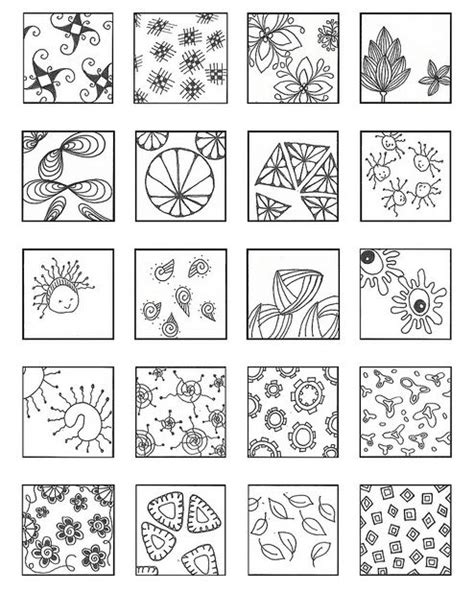 doodle crafting guide 8127 best images about zentangle patterns on