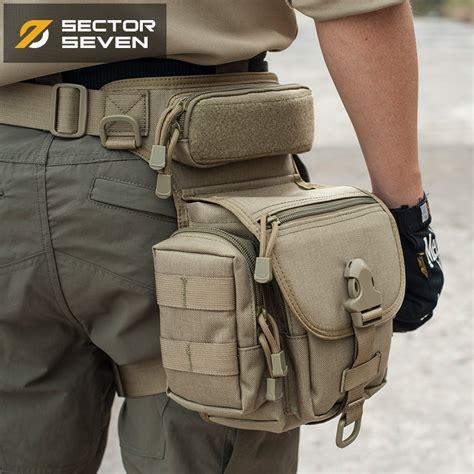 Army Tactical Bag Sarung Tempat Botol the 7 days tactical waist leg bag fans