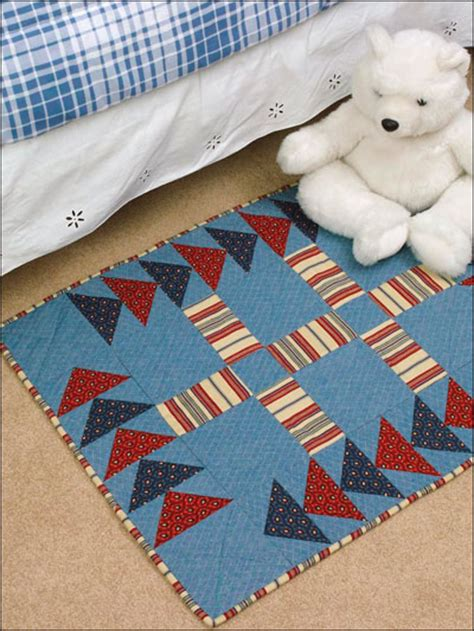 Denim Quilt Patterns For Beginners by Free Beginner Quilting Patterns Circling Geese Denim Rug