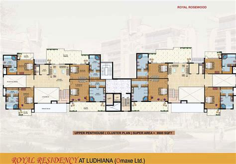 Cluster Home Plans by Free Home Plans Cluster Home Plans