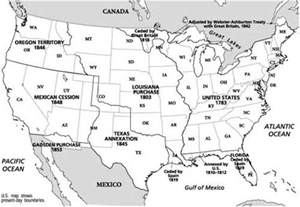 us territorial expansion map blank blank us map territory expansion