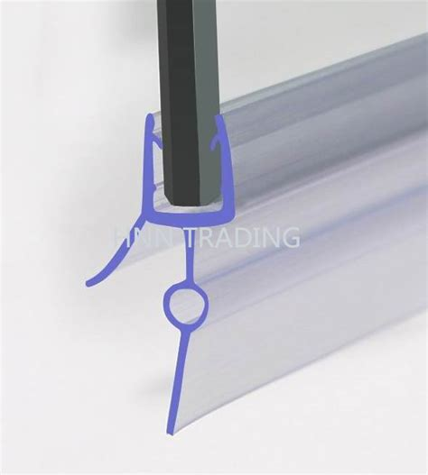 Shower Screen Seals For Curved Glass by New Shower Screen Plastic Seal For 6 Or 8mm Curved Glass