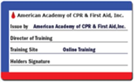 aha card template front and back american association cpr card template
